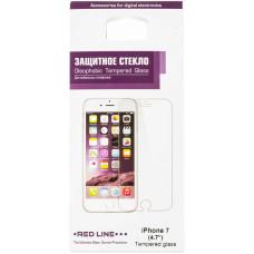 Защитное стекло для экрана Redline (Apple iPhone 7) [УТ000009670]