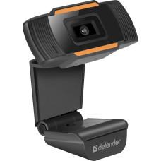 Веб-камера DEFENDER G-lens 2579 HD720p (2млн пикс., 1280x720, микрофон, USB 2.0) [63179]