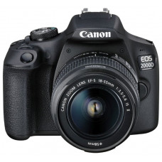 Цифровой фотоаппарат Canon Фотоаппарат EOS 2000D Kit [2728C002]