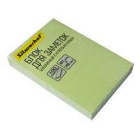 Блок самоклеящийся Silwerhof 682155-06 (зеленый, 51x76) [682155-06]