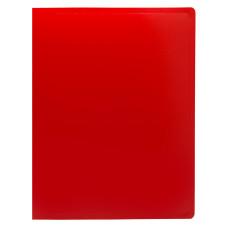 Папка Buro ECB10RED (A4, пластик, толщина пластика 0,5мм, красный) [ECB10RED]