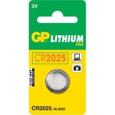 Батарея GP Lithium Cell CR2025