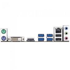 Материнская плата Gigabyte GA-A320M-H (AM4, AMD A320, 2xDDR4 DIMM, microATX, RAID SATA: 0,1,10) [GA-A320M-H REV 3.0]