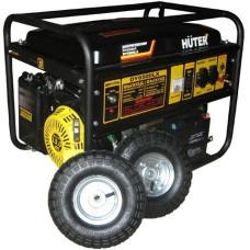 Электрогенератор Huter DY6500LX с колёсами (пуск ручной, электрический, 5,5/5кВт, 220В) [64/1/15]