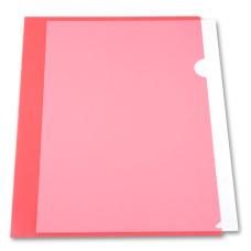 Папка-уголок Бюрократ EE310/1RED (A4, пластик, толщина пластика 0,15мм, красный) [EE310/1RED]