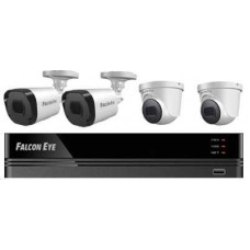 Комплект видеонаблюдения Falcon Eye FE-104MHD KIT Офис SMART [FE-104MHD KIT ОФИС SMART]