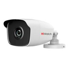 Камера видеонаблюдения HiWatch DS-T110 (2,8 мм) (уличная, уличная, цилиндрическая, 1Мп, 2.8-2.8мм, 25кадр/с) [DS-T110 (2.8 mm)]