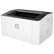 Принтер HP Laser 107w (лазерная черно-белая, A4, 20стр/м, 1200x1200dpi, 10'000стр в мес) [4ZB78A]