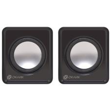 Компьютерная акустика Oklick OK-331 (2.0, 6Вт, пластик) [HS-01A BLACK]