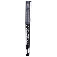 Ручка-роллер Deli EQ20320 (стреловидный пиш. наконечник, 0,7мм, черный) [EQ20320]