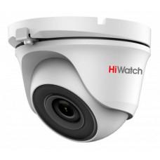 Камера видеонаблюдения HiWatch DS-T123 (2,8 мм) (уличная, цветная, 1Мп, 2.8-2.8мм, 1280x720, 25кадр/с) [DS-T123 (2.8 mm)]