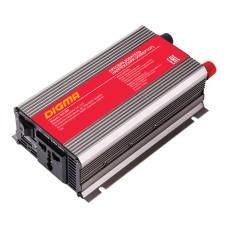 Автоинвертор DIGMA DCI-600 (600Вт, клеммы) [DCI-600]