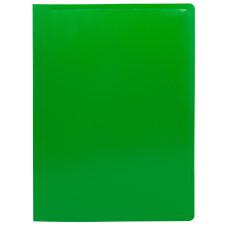 Папка с зажимом Buro ECB04PGREEN (зажимов 1, A4, пластик, толщина пластика 0,5мм, зеленый) [ECB04PGREEN]