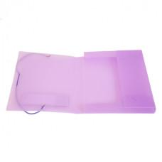 Папка-короб Бюрократ CR510A5 (A5, пластик, толщина пластика 0,7мм, на резинке, ширина корешка 40мм, ассорти) [CR510A5]