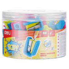 Точилка для карандашей Deli ER00106 (ручная, пластик, отверcтий 1) [ER00106]