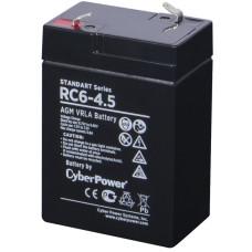 Батарея CyberPower RC 6-4.5 (6В, 7Ач) [RC 6-4.5]