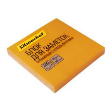 Блок самоклеящийся Silwerhof 682161-07 (оранжевый, 76x76) [682161-07]