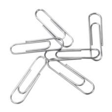 Скрепки Deli E39712 (металл, никелированные, 100шт) [E39712]