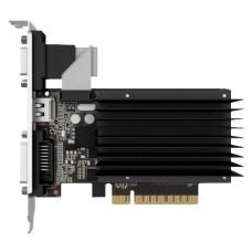 Видеокарта GeForce GT 730 800МГц 2Гб PALIT (PCI-E 8x 2.0, DDR3, 64бит, 1xDVI, 1xHDMI) [NEAT7300HD46-2080H]