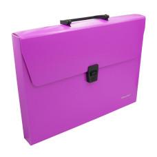 Портфель Silwerhof 322715-03 (A4, отделений 1, пластик, розовый неон) [322715-03]