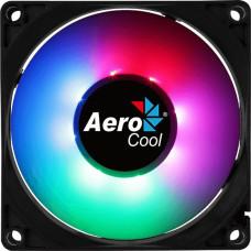 Кулер для корпуса Aerocool Frost 8 (28,3дБ, 80x80x25мм, 3-pin) [FROST 8 FRGB MOLEX + 3P]
