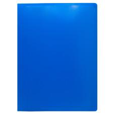 Папка на кольцах Buro ECB0420/2RBLUE (количество колец 2, форма колец О-образные, A4, пластик, толщина пластика 0,5мм, синий) [ECB0420/2RBLUE]
