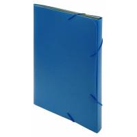 Портфель Бюрократ -BPR6BLUE (6 отделений, A4, пластик, 0,7мм, синий) [BPR6BLUE]