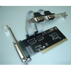 Контроллер WCH353(PCI) [ASIA PCI 2S1P]