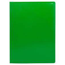 Папка Buro ECB20GREEN (A4, пластик, толщина пластика 0,5мм, зеленый) [ECB20GREEN]