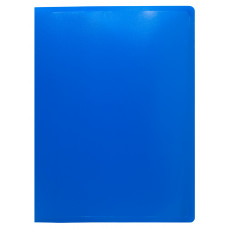 Папка Buro ECB20BLUE (A4, пластик, толщина пластика 0,5мм, синий) [ECB20BLUE]