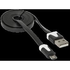 Defender (USB 2.0 Type-AM, microUSB 2.0 (m), 1м) [87475]
