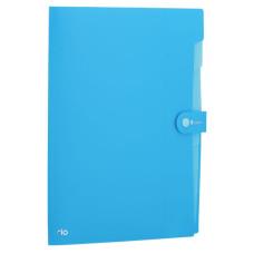 Папка-портфель Deli Rio EB40102 (A4, отделений 8, полипропилен, толщина пластика 0,6мм, ассорти) [EB40102]
