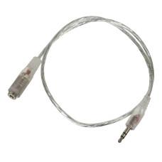 Кабель-удлинитель аудио Buro (Jack 3.5 (m), Jack 3.5 (f), 0,5м) [CAB025-0.5M]
