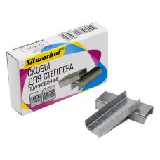 Скобы для степлера Silwerhof 421011-40 (тип N10, 1000шт) [421011-40]