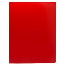 Папка с зажимом Buro ECB04PRED (зажимов 1, A4, пластик, толщина пластика 0,5мм, красный) [ECB04PRED]