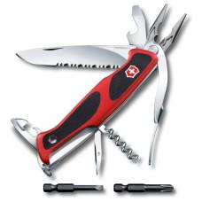 Нож многофункциональный VICTORINOX RangerGrip 174 Handyman (17 функций) с чехлом [0.9728.WC]