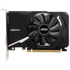 Видеокарта GeForce GT 1030 1189МГц 2Гб MSI AERO ITX OC (PCI-E 16x 3.0, DDR4, 64бит, 1xDVI, 1xHDMI) [GT 1030 AERO ITX 2GD4 OC]