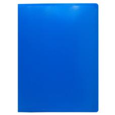 Папка Buro ECB10BLUE (A4, пластик, толщина пластика 0,5мм, синий) [ECB10BLUE]