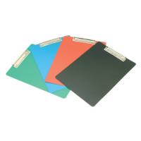 Папка-планшет Бюрократ -PD6002 (A4, пластик, толщина пластика 1мм, ассорти) [PD6002]