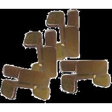Комплект крепежа Lanmaster TWT-CBB-UNT [TWT-CBB-UNT]