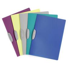 Папка с клипом Durable Swingclip 226600 (верхний лист пастельно-матовый, A4, вместимость 1-30 листов, ассорти) [226600]