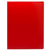 Папка с зажимом Buro ECB04CRED (зажимов 1, A4, пластик, толщина пластика 0,5мм, красный) [ECB04CRED]