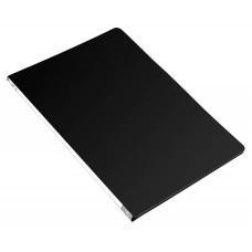 Папка с зажимом Бюрократ -PZ05CBLCK (зажимов 1, A4, пластик, толщина пластика 0,5мм, торцевая наклейка, черный) [PZ05CBLCK]