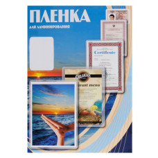 Пленка для ламинирования Office Kit PLP10910 (125мкм, 100шт, глянцевая) [PLP10910]