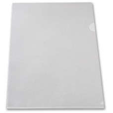 Папка-уголок Бюрократ -E310/1CLEAR (A4, пластик, толщина пластика 0,18мм, прозрачный) [E310/1CLEAR]