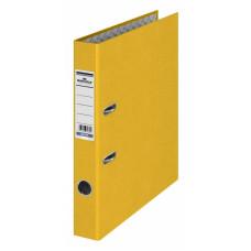 Папка-регистратор Durable 3220-04 (A4, бумвинил, ширина корешка 50мм, желтый) [3220-04]
