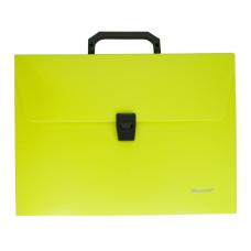 Портфель Silwerhof 322715-02 (A4, отделений 1, пластик, желтый неон) [322715-02]