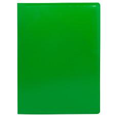 Папка Buro ECB10GREEN (A4, пластик, толщина пластика 0,5мм, зеленый) [ECB10GREEN]