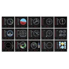 Панель Logitech Панель Flight Instrument Panel [945-000008]