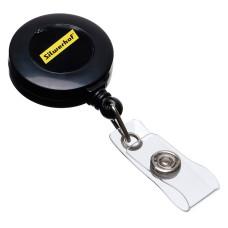 Рулетка Silwerhof (для бейджа, черный) [380010-00]